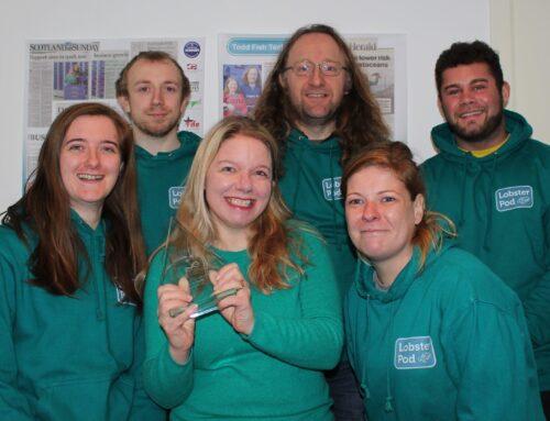 Sea-E-O Errin wins Innovator of the year Award