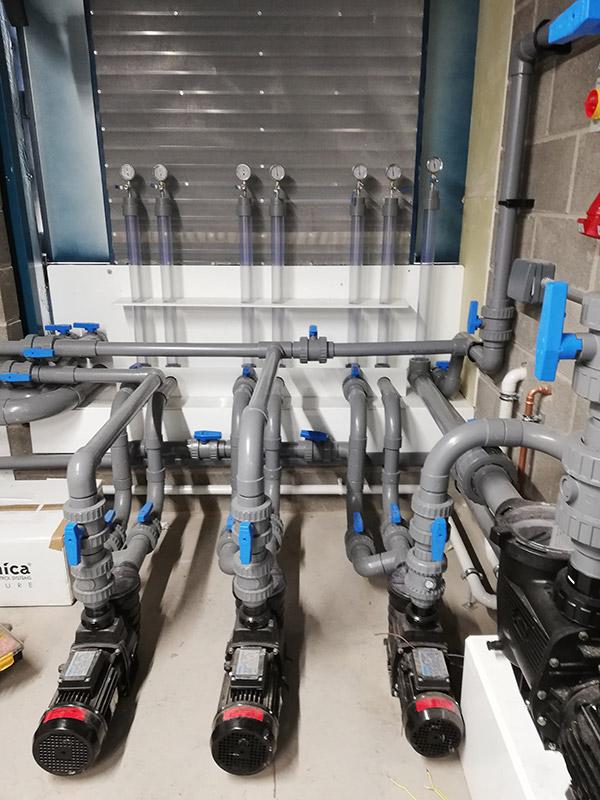 Filter bespoke water intake